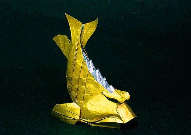 """""""Origami Nedir?"""" Sorusuna Cevap Niteliğinde 27 Sanat Eseri"""