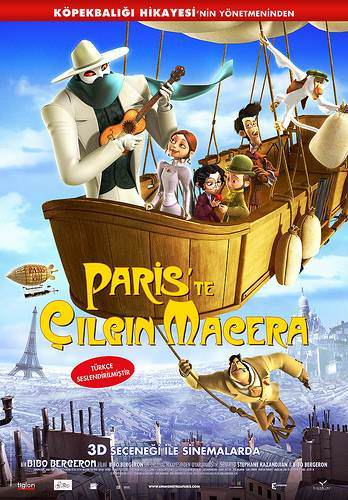 Pariste Çılgın Macera / Türkçe Dublaj / Online Çizgi Film İzle