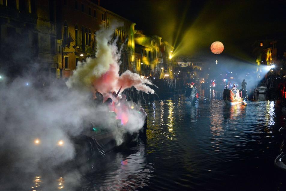 """Venedik'te """"Karnaval"""" zamanı"""
