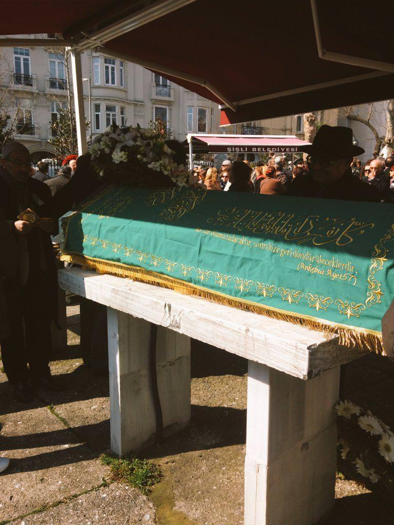 Yaşar Kemal'in cenazesinden kareler