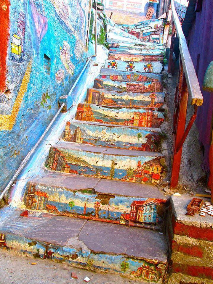 Yaşayan merdivenler