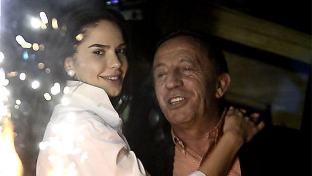 Ali Ağaoğlu sevgilisinin doğum gününü kutladı