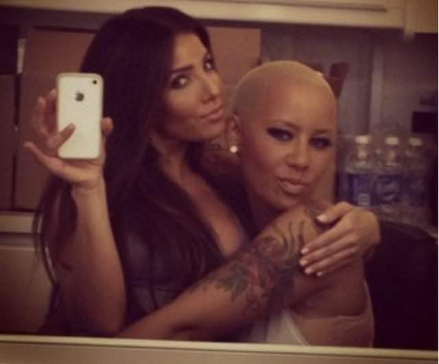 Amber Rose'dan Kim Kardashian'a sert sözler