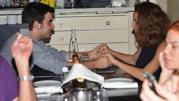 Berfin Erdoğan sevgilisiyle fena yakalandı