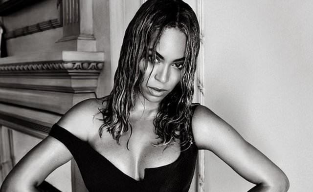 Beyonce'dan cesur pozlar!