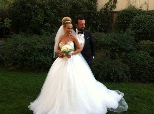 Burçin Bildik evlendi