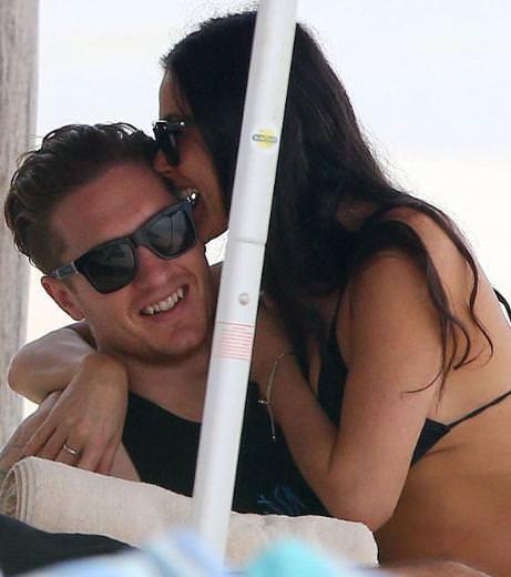 Demi Moore'un yeni sevgili o mu?
