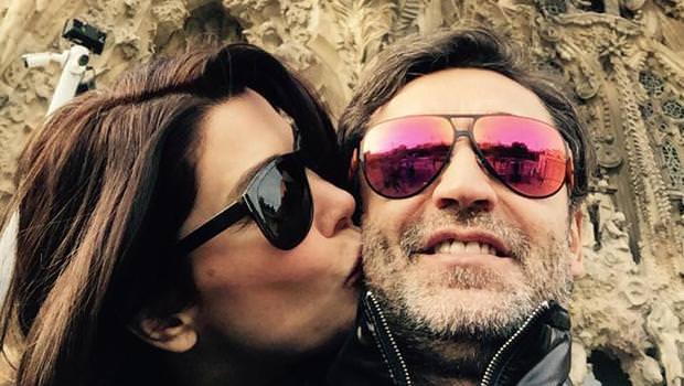 Deniz Akkaya ile Murat Varol'un İspanya'da aşk tatili