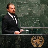 DiCaprio'nun konu�mas� olay oldu