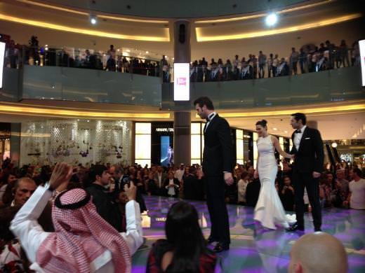 Dubai'de Kıvanç izdihamı