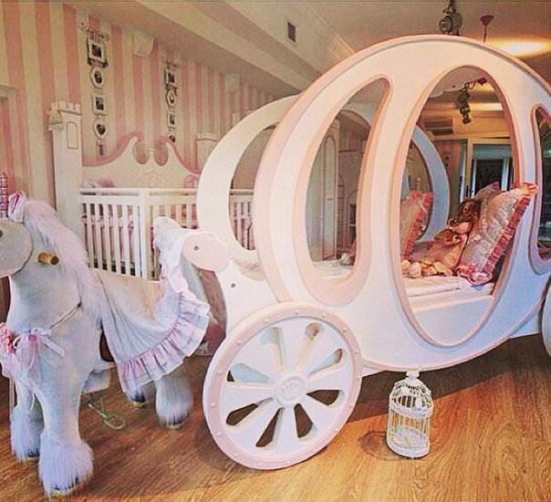 İşte Hira bebeğin odası