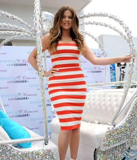 Khloe Kardashian'ın yeni görüntüsü