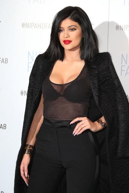 Kylie Jenner dudaklarının sırrını açıkladı
