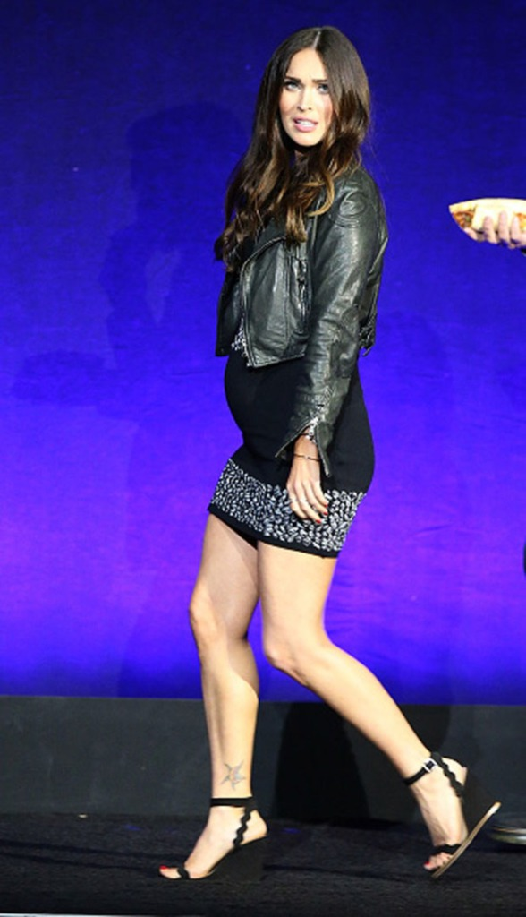 Megan Fox'un hamile görüntüsü şaşkınlık yarattı!