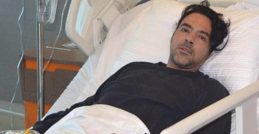 Ozan Orhon yine ameliyatlık oldu