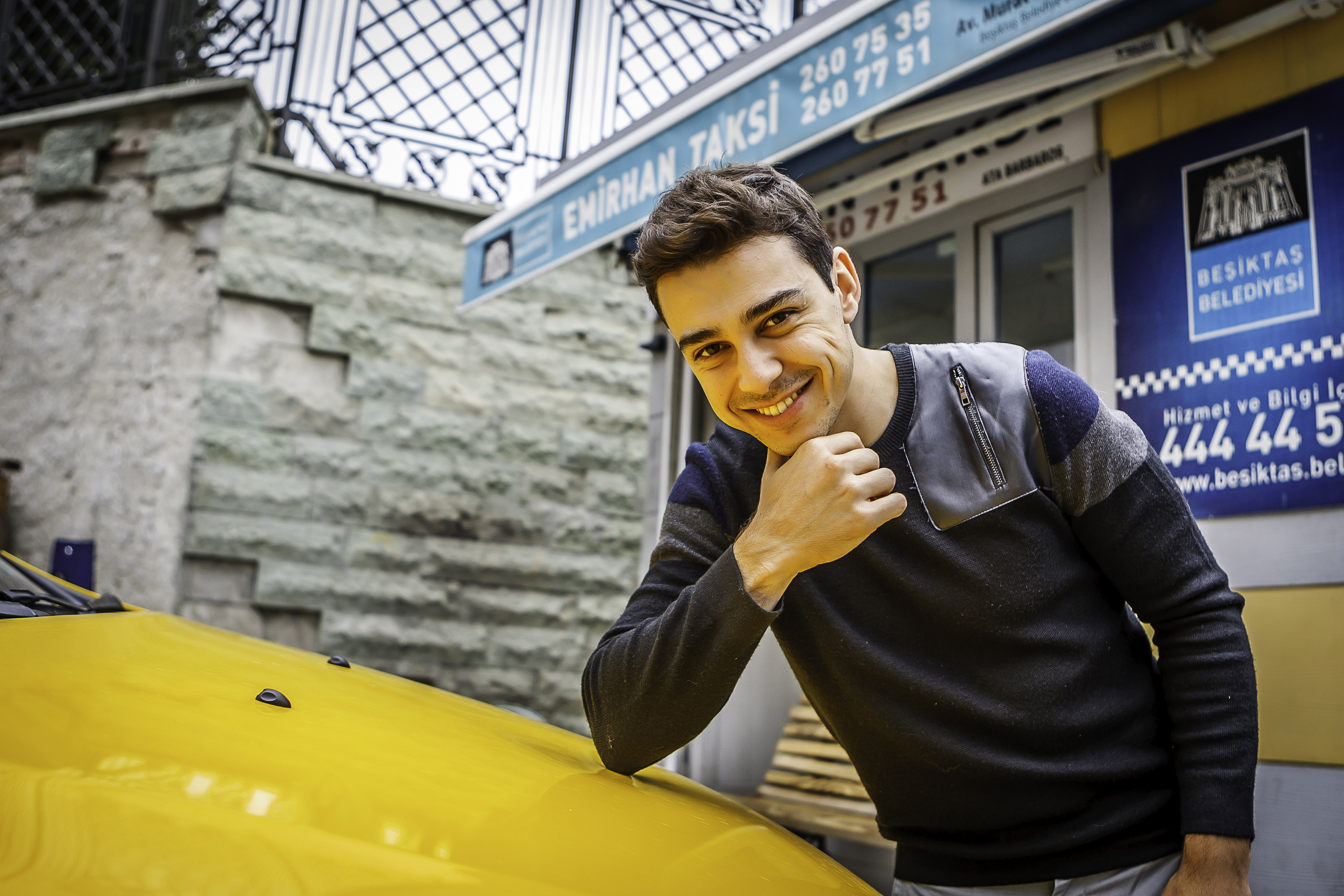 Taksici oyuncu
