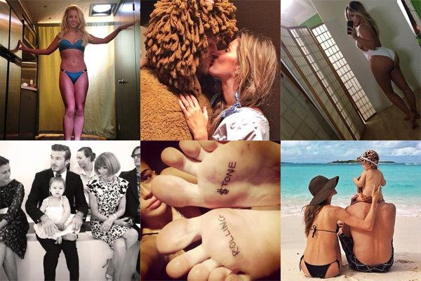 Sosyal medyada ünlülerin 2013'ü böyle geçti