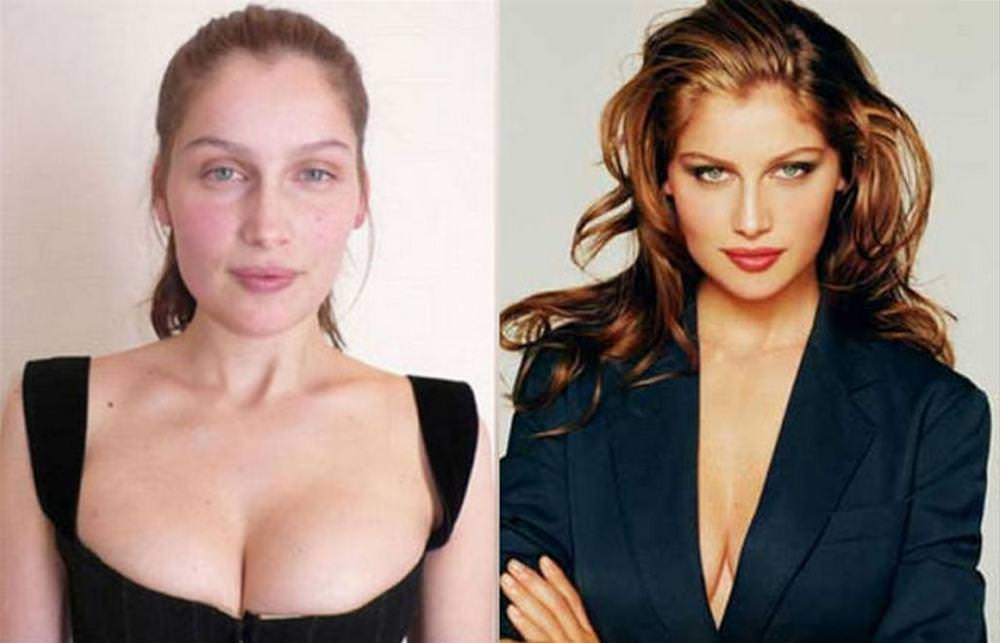 Victoria secret models without makeup