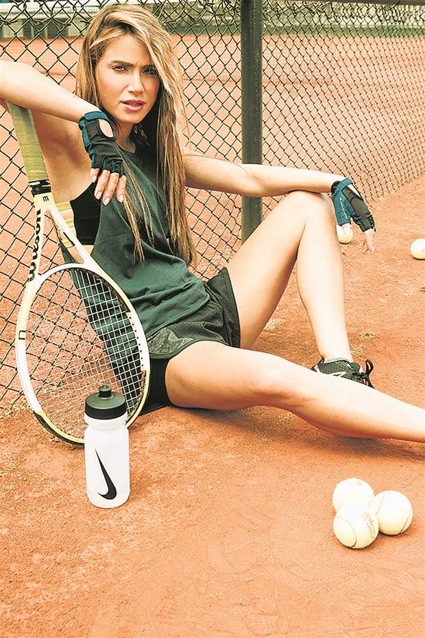 Tam bir spor tutkunu!