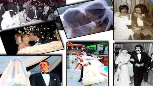 Ünlü çiftlerin nikah fotoğrafları