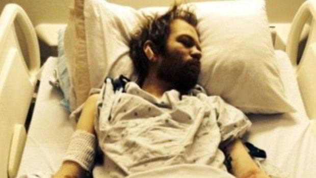 En garip hastane selfie'leri