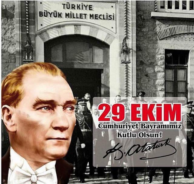 Ünlülerin 29 Ekim Cumhuriyet Bayramı mesajları