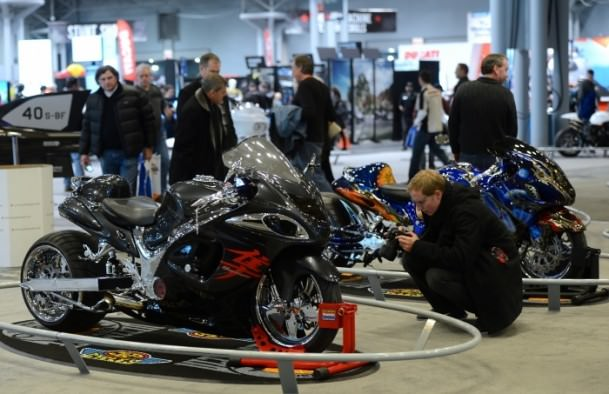 2014 model motosikletler görücüye çıktı