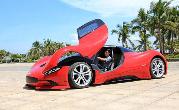 9 bin liraya spor araba yaptı