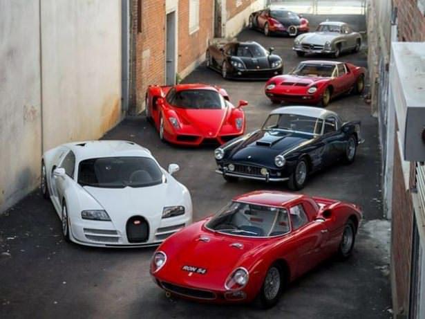 Dünyanın en pahalı araba koleksiyonu