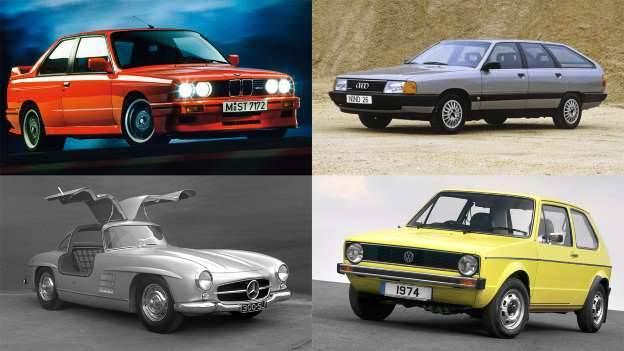 Efsaneleşmiş Alman otomobilleri