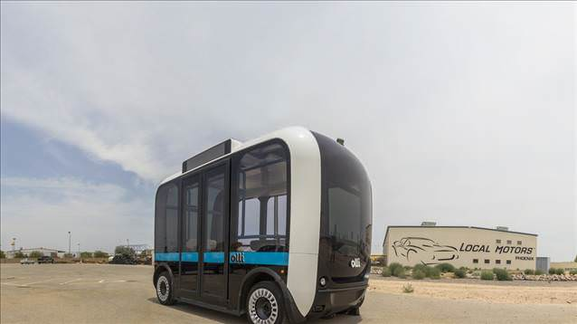 Elektrikli ve Sürücüsüz Minibüs : Olli