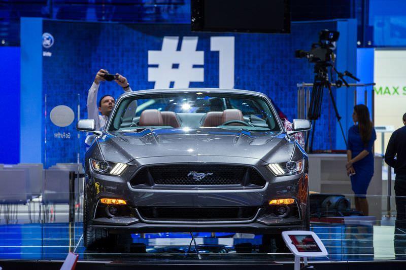 Ford Mustang'den Avrupa'da bir ilk