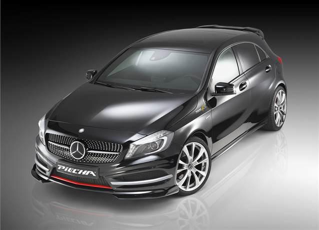Mercedes A Serisi'ne İtalyan modifikasyonu