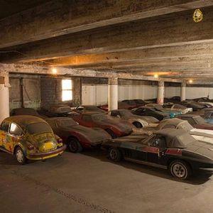 Milyon dolarlık arabalar çöp oldu!
