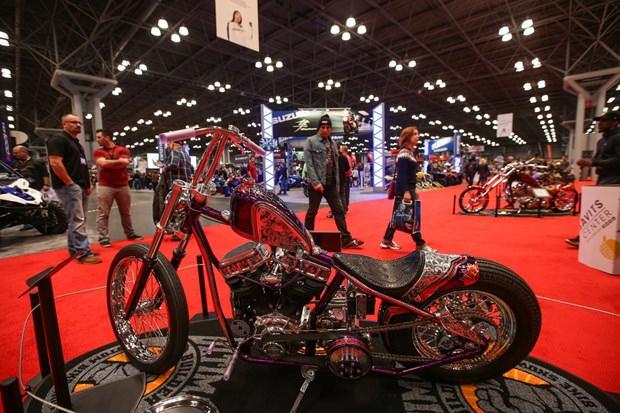 Motosiklet tutkunlarını buluşturan fuar