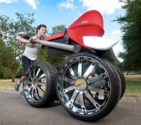Otomobil firması bebek arabası üretirse...