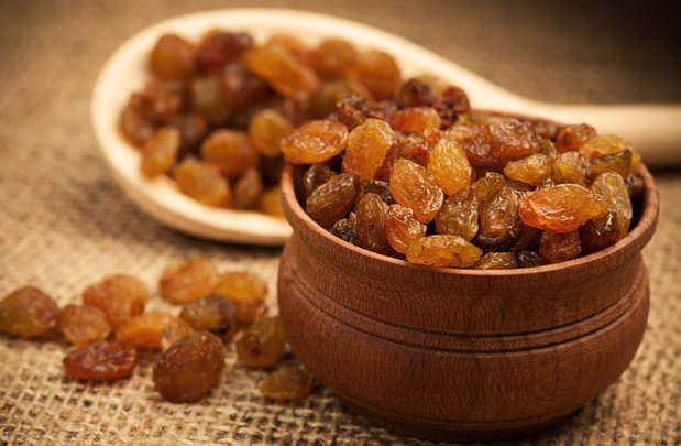Kuru üzümün bilinmeyen faydaları