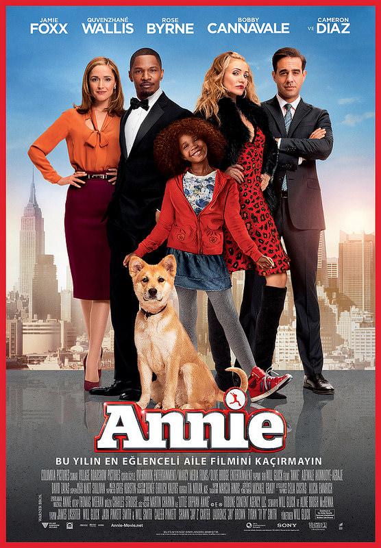 Annie filminden kareler