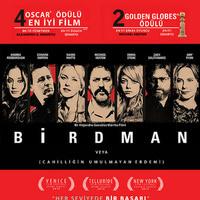 Birdman filminden kareler