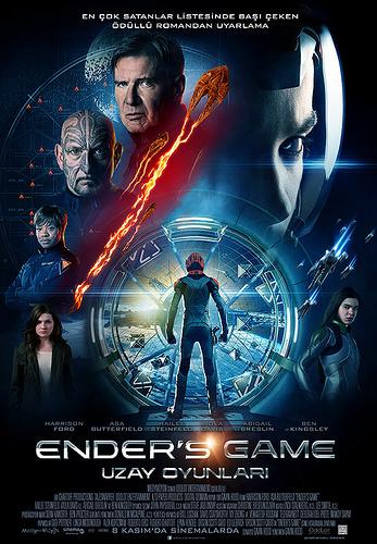 Ender's Game: Uzay Oyunları filminden kareler