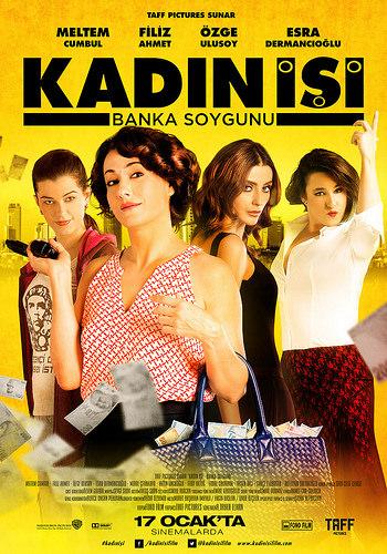 Kadın İşi: Banka Soygunu filminden kareler