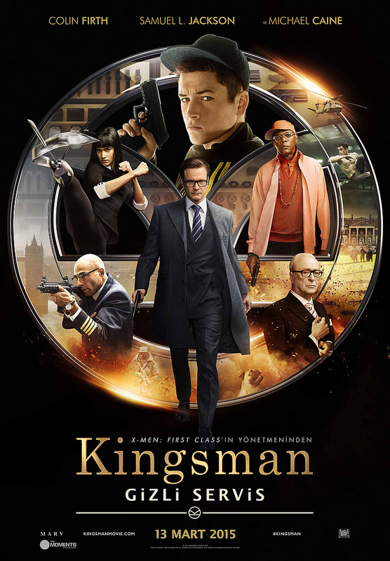 Kingsman: Gizli Servis filminden kareler