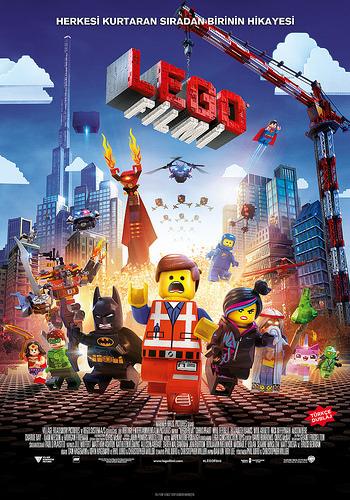 Lego Filmi filminden kareler