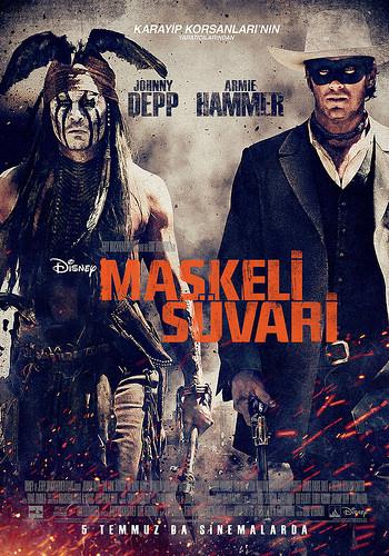 Maskeli Süvari filminden kareler