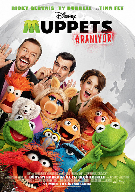 Muppets Aranıyor filminden kareler
