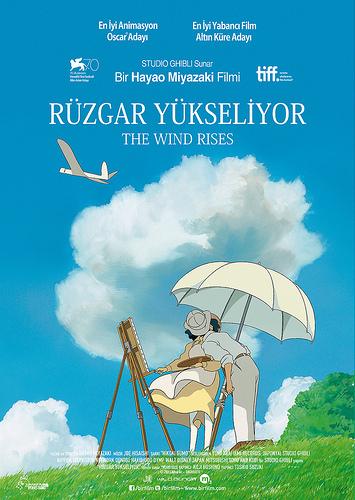 Rüzgar Yükseliyor filminden kareler