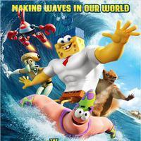 Sünger Bob Kare Pantolon 3D filminden kareler