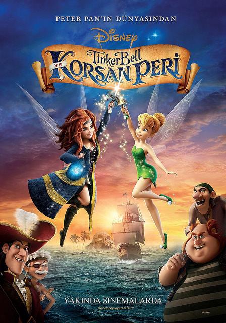 Tinker Bell ve Korsan Peri filminden kareler