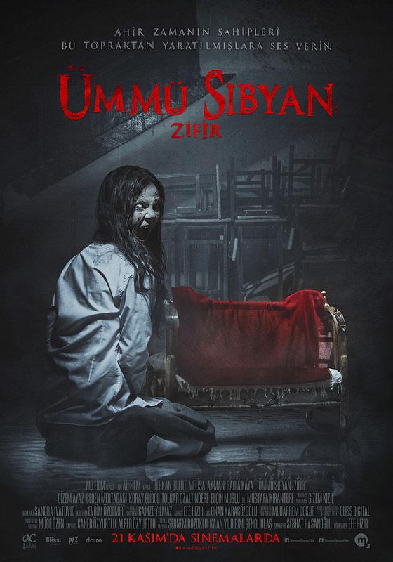 Ümmü Sıbyan : Zifir filminden kareler
