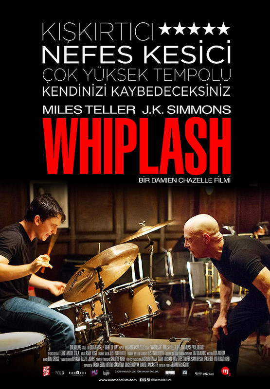 Whiplash filminden kareler
